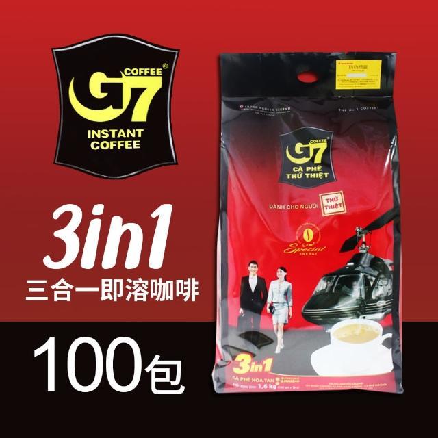【G7】三合一即溶咖啡(16g*100包)