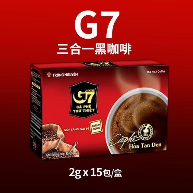 【G7】黑咖啡(2g*15包)