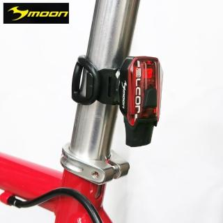【MOON】ALCOR 快拆磁扣式紅光LED超輕量警示後燈-紅(尾燈)