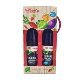 【味榮】紅色小醬禮盒(日式昆布麵露、蔬果烏醋)
