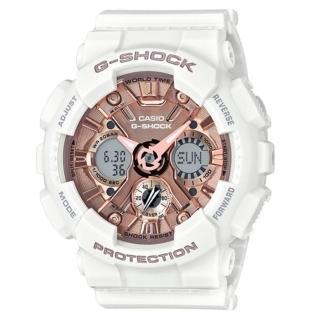【CASIO 卡西歐】潮流尖端雙顯運動腕錶/限定版(GMA-S120MF-7A2DR)