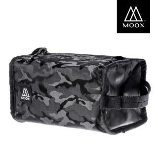 【MOOX 穆克斯】O14AB 手提方型收納包(迷彩黑)