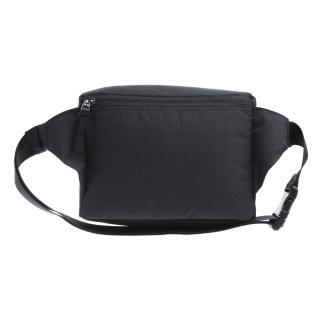 【MOOX 穆克斯】A5BB 極簡時尚單肩斜背包/腰包(石墨黑)
