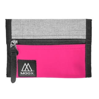 【MOOX 穆克斯】O9PS 輕量旅行收納包(桃紅灰)