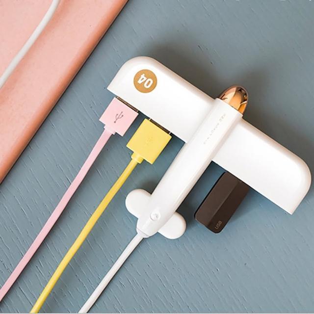 【時尚玩家】高速4口USB分線器/USB擴充器/電腦手機平板USB設備適用