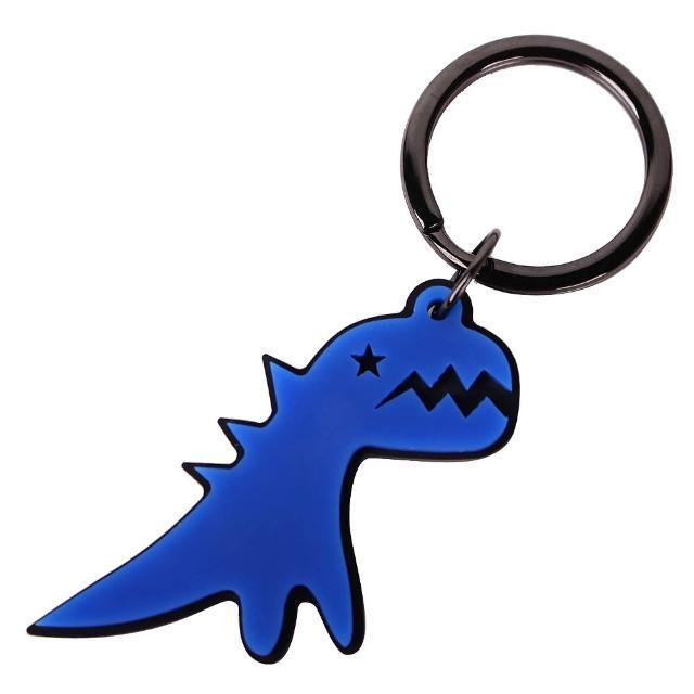 【agnes b.】SPORT b閃電恐龍鑰匙圈(藍)