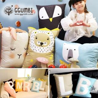 【GGUMBI】DreamB 動物造型抱枕(7款可選)