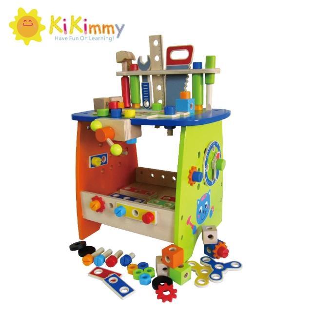 【kikimmy】DIY益智工具桌75件组(木制玩具)
