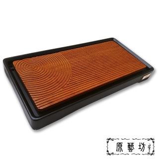 【原藝坊】漣池竹製茶盤(竺石系列)