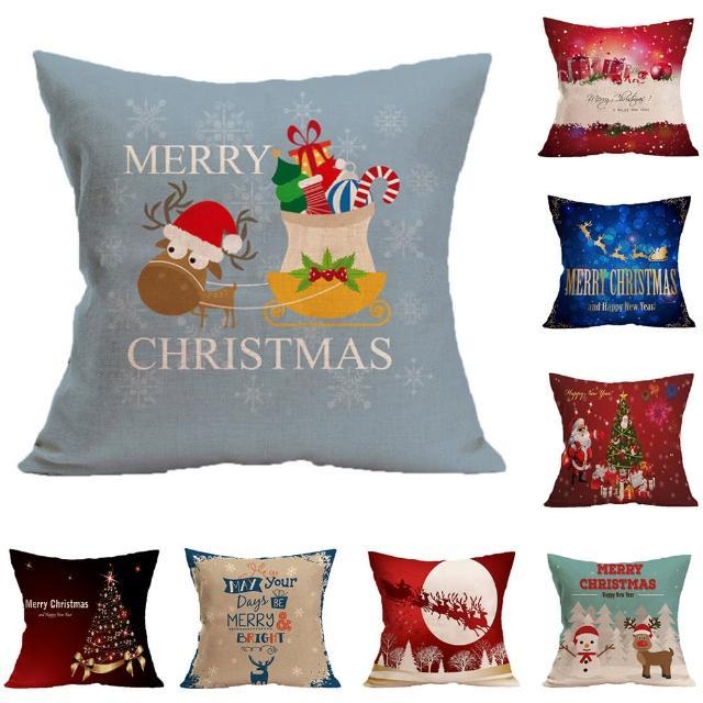 【BELLE VIE】狂歡聖誕派對 抱枕/靠枕/枕套 佳節限定(45cm×45cm)