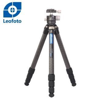 【Leofoto 徠圖】LS324C+LH40碳纖維三腳架(含中軸雲台)