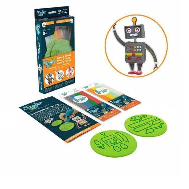 【3Doodler】Start 3D列印筆 模具版-ROBOT(3D列印筆模具組)