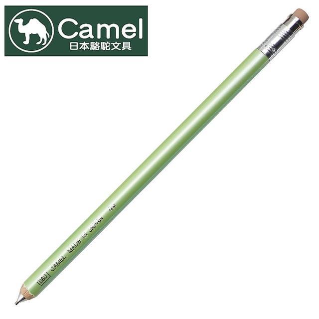 【Camel日本駱駝文具】CCW-204 木製自動鉛筆(淺綠)