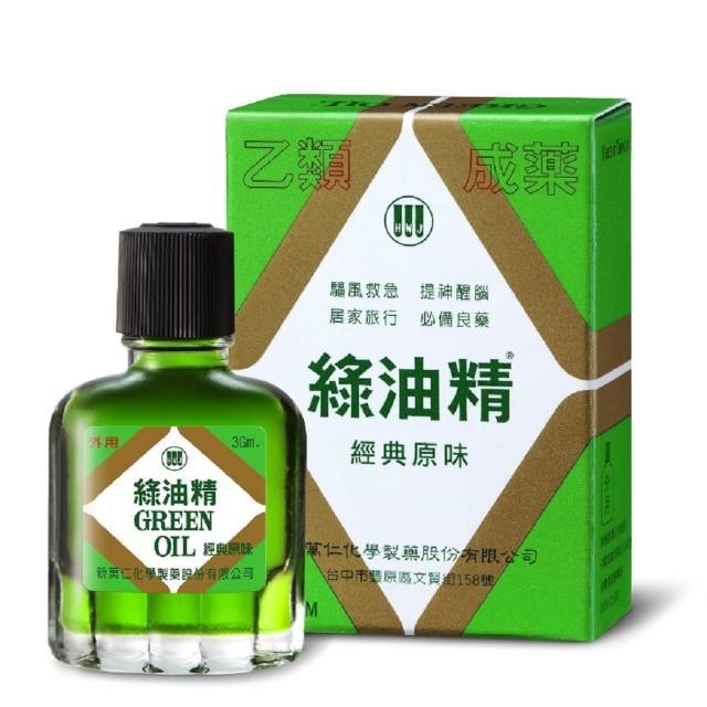 【新萬仁】綠油精 3g (乙類成藥)