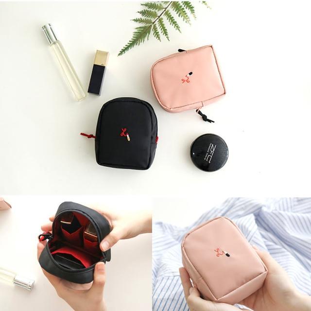 韓版 DINIWELL 立體口紅唇彩化妝包 旅行收納包