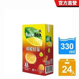 【飛想茶】檸檬紅茶300ml-24入