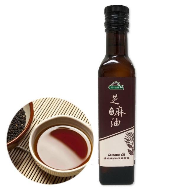 【統一生機】原粒芝麻油(250ml/瓶)