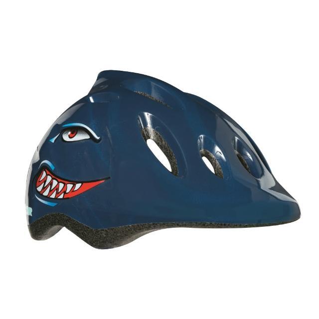 【LAZER】MAX+ 自行車兒童用安全帽-小鯊魚(49-56cm)