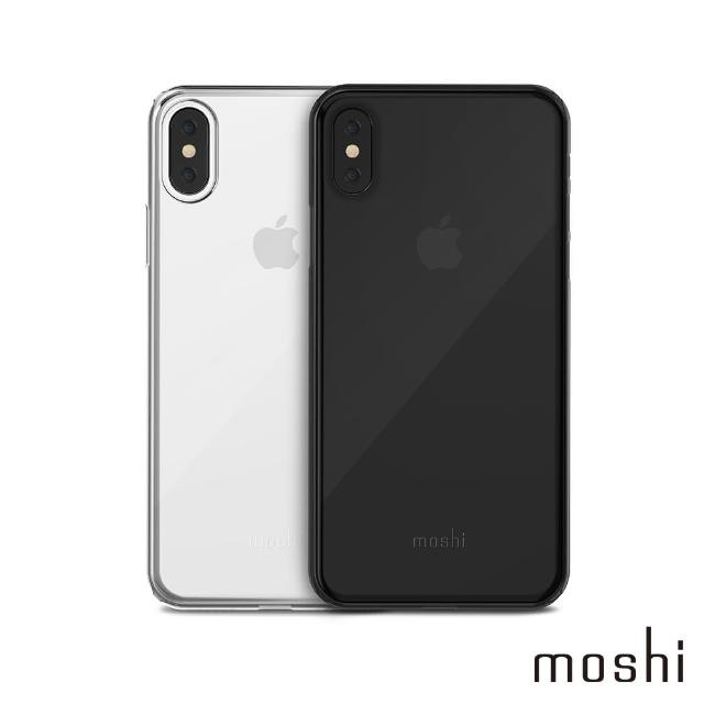 【moshi】SuperSkin for iPhone X 勁薄裸感保護殼