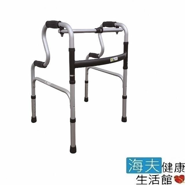 【海夫健康生活館】杏華助行器 未滅菌 1吋固定式 航太鋁合金 R型 助行器(2503)