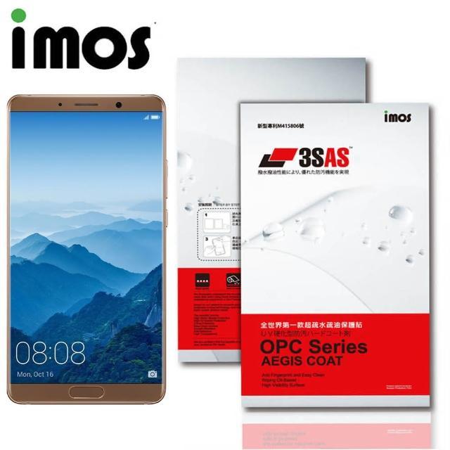 【iMos】HUAWEI Mate 10(3SAS 疏油疏水 萤幕保护贴)