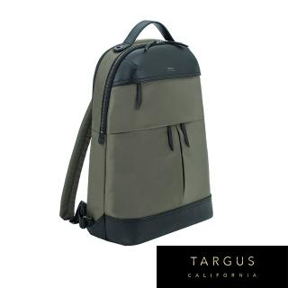 【Targus】Newport 後背包(橄欖綠/適用 15 吋筆電)