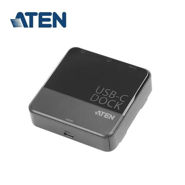 【ATEN】USB-C 雙螢幕迷你擴充基座(UH3231)