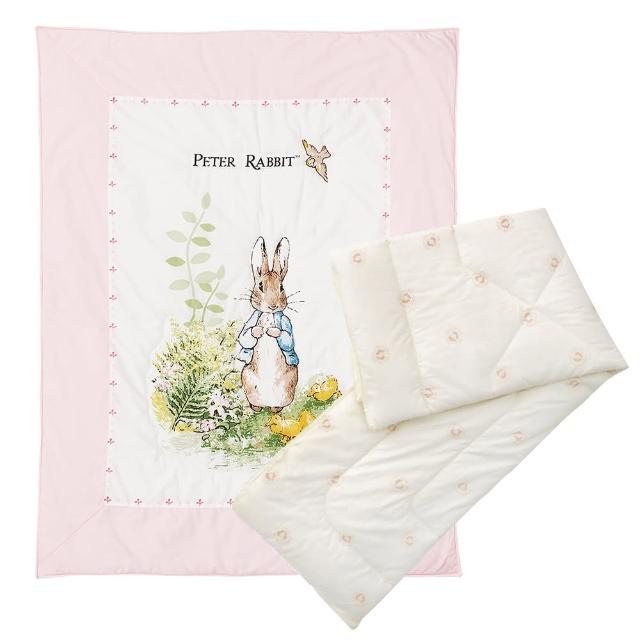 【奇哥】花園比得兔二用被+小羊毛保暖被胎