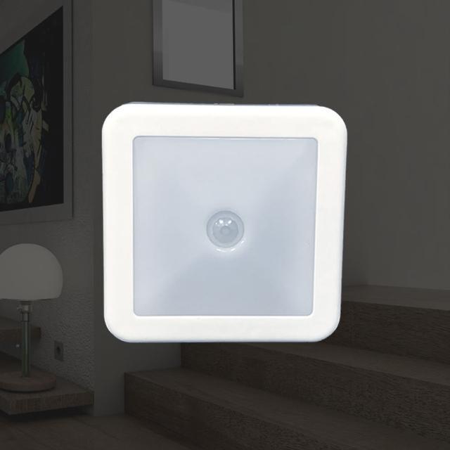 小方塊人體感應小夜燈(走廊/陽台/臥室/客廳/裝潢/居家/租屋)