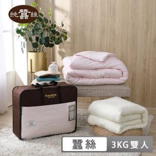 【岱妮蠶絲】天然特級100%長纖純蠶絲被-雙人3kg(EHR61301)
