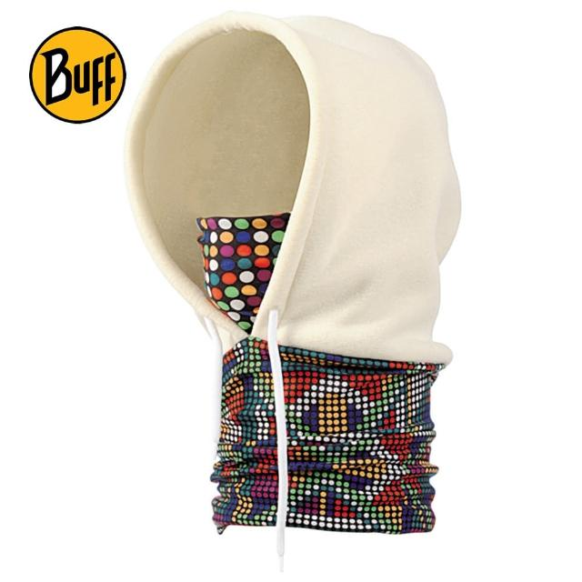 【BUFF】彩色點點 POLAR保暖連帽頭巾(BF311001)
