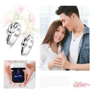 【GIUMKA】925純銀戒指尾戒 永結同心純銀戒 情侶對戒 單個價格 MRS07116