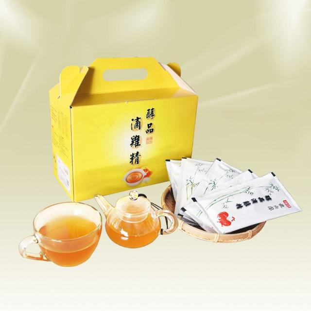 【醇品】滴雞精20包/60cc/包/1組(優惠組)