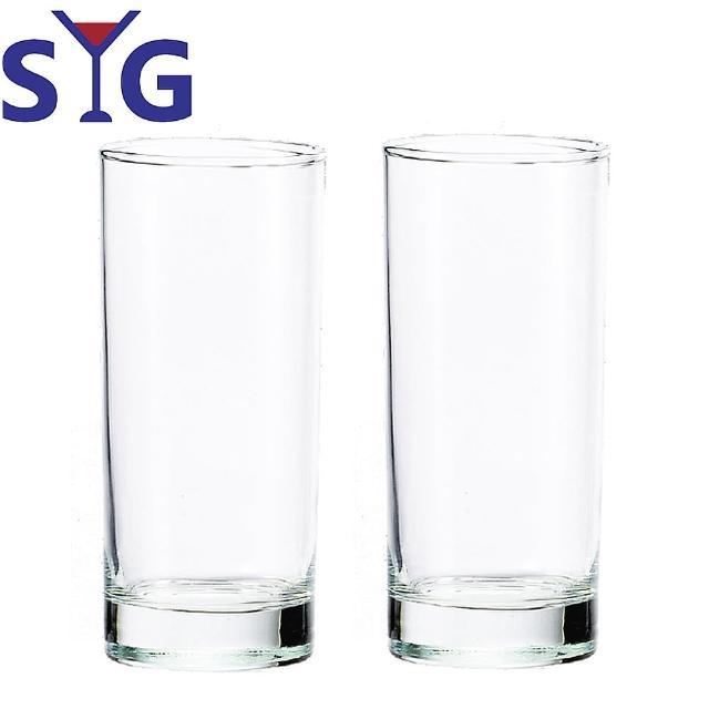 【SYG 台玻】玻璃厚底直式啤酒杯460cc(二入組)