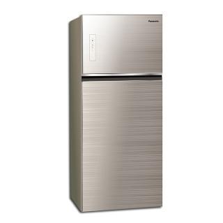 【Panasonic 國際牌★送商品卡1000+吸濕毯】422公升一級能效智慧節能變頻雙門冰箱(NR-B429TG-N 翡翠金)