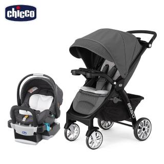 【Chicco】Bravo極致完美手推車限定版+KeyFit 手提汽座(嬰兒手推車)