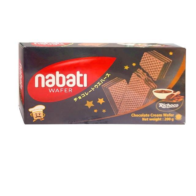 【麗巧克 Nabati】巧克力威化餅(200g)