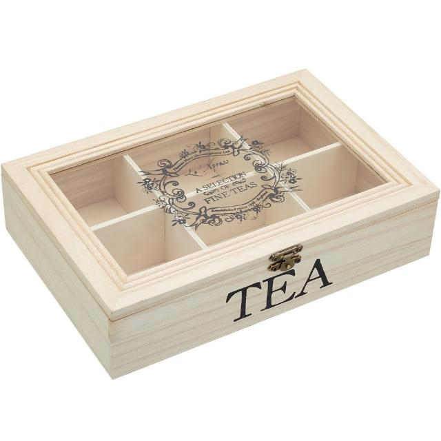 【KitchenCraft】古典茶包收納盒