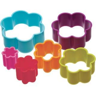 【KitchenCraft】餅乾切模6件(花朵)