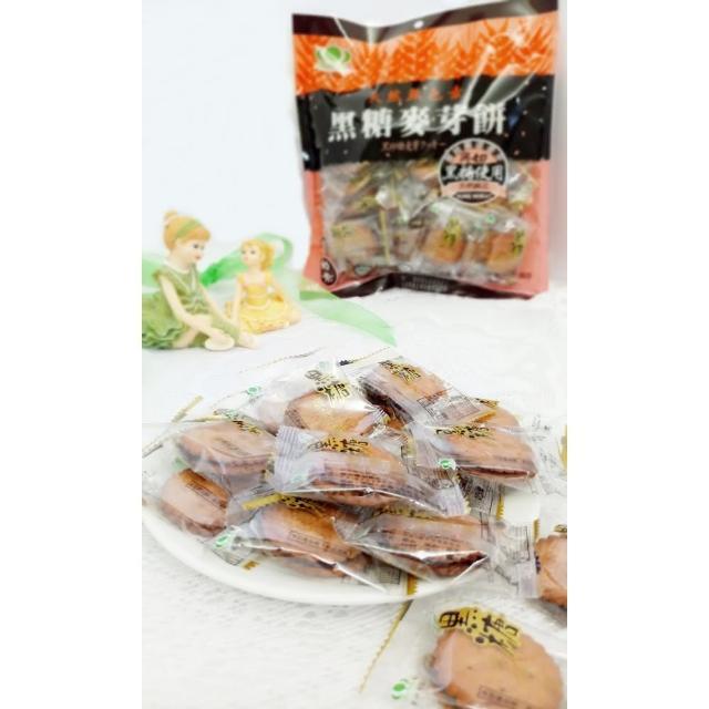 【昇田食品】黑糖麥芽餅(250g)