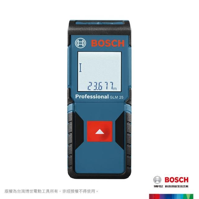 【BOSCH 博世】25米雷射藍芽測距儀(GLM 25)