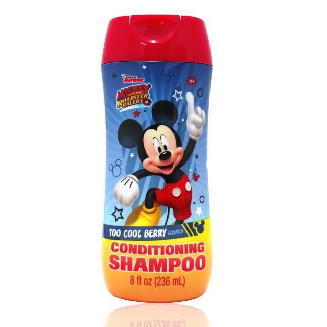 【美國熱銷卡通 Disney Mickey】雙效洗髮精(236ml/8oz)