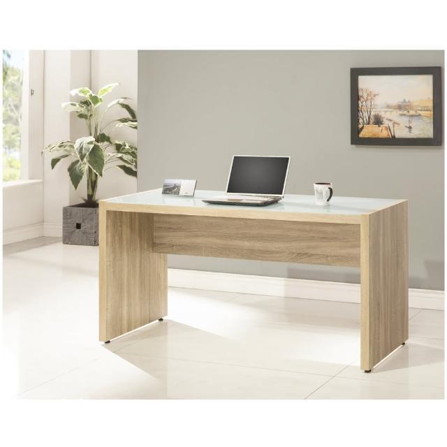 【ALBBRT】5尺電腦書桌-3D淺木色(-DIY組合產品)
