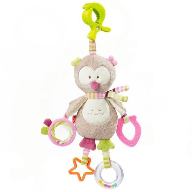 【NUK】德國絨毛玩具-多功能吊掛式固齒玩偶