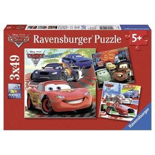 【德國Ravensburger】迪士尼Cars49片x3(維寶 拼圖)