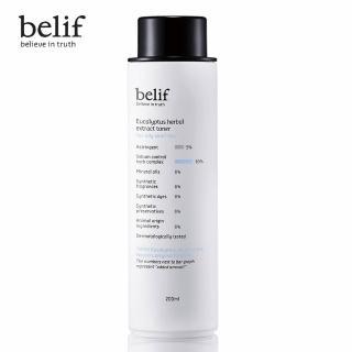 【belif】尤加利清爽控油化妝水 200ml(油性肌膚適用)