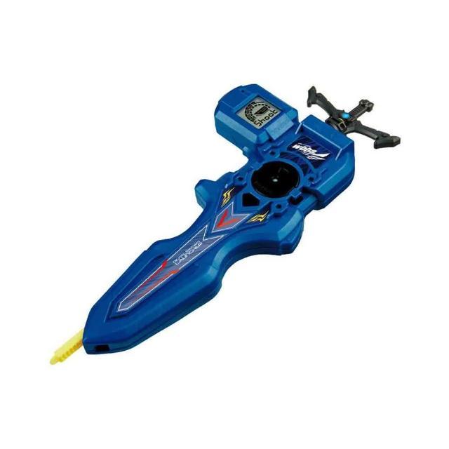 【戰鬥陀螺BURST】#93  電子測定發射器  藍(男孩 對戰)