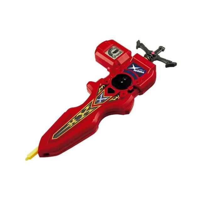 【戰鬥陀螺BURST】#94  電子測定發射器  紅(男孩 對戰)