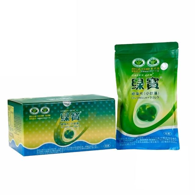 【綠寶】綠藻片4000錠環保補充包(4000粒/盒)