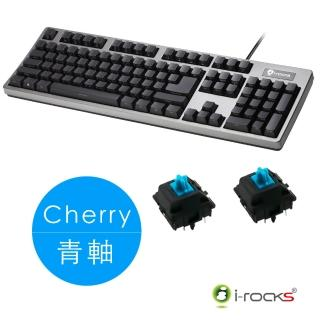 【i-Rocks】IRK68MN側刻無背光機械式鍵盤-德國Cherry軸